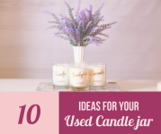 Ten Ways To Reuse A Candle Jar!